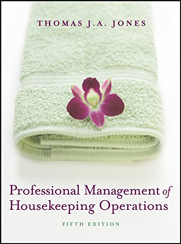 9780471762447: Professional Management of Housekeeping Operations