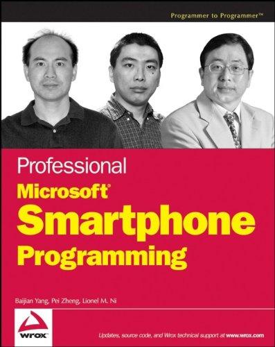 9780471762935: Professional Microsoft Smartphone Programming