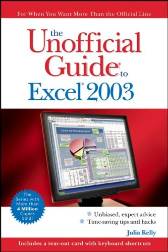 9780471763215: The Unofficial Guide to Excel 2003