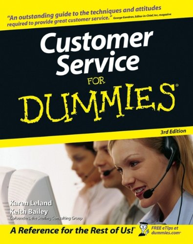 9780471768692: Customer Service For Dummies