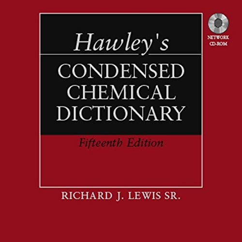 9780471768968: Hawley's Condensed Chemical Dictionary