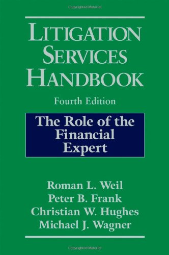 9780471769088: Litigation Services Handbook: The Role of the Financial Expert
