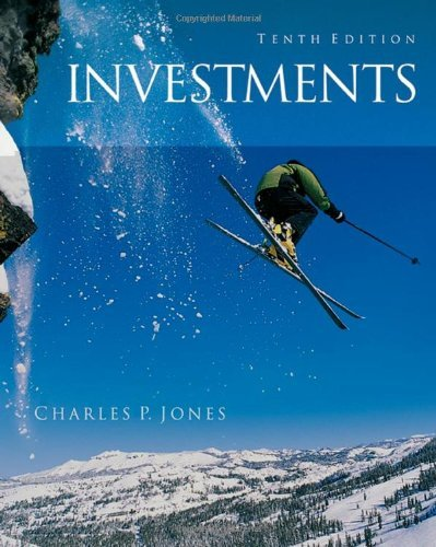 9780471770459: Investments: Analysis and Management by Charles P. Jones (2006-09-29)