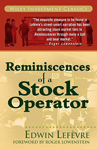 9780471770886: Reminiscences of a Stock Operator: Wiley Investment Classic Series