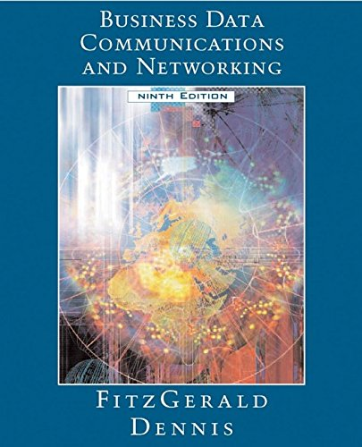 9780471771166: Business Data Communications and Networking