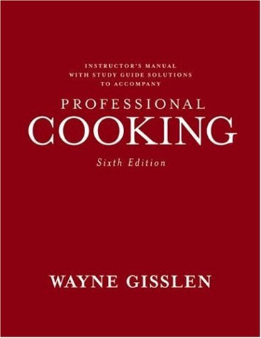 9780471771500: Professional Cooking: College Version