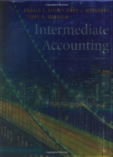 Intermediate Accounting 12th Edition
