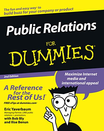 9780471772729: Public Relations For Dummies, 2nd Edition