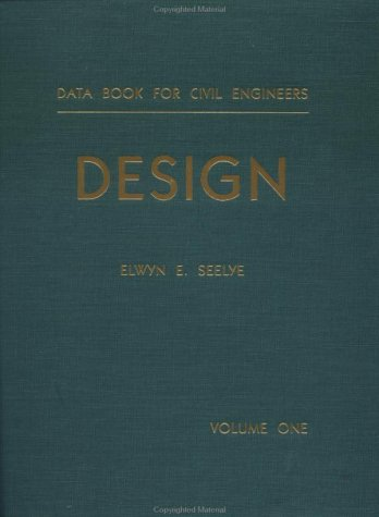 9780471772866: Design, Volume 1, Data Book for Civil Engineers, 3rd Edition