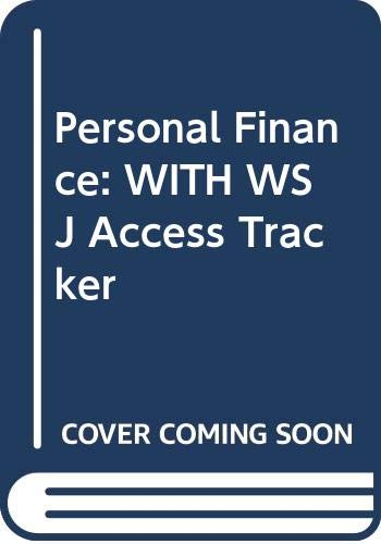 9780471774389: Personal Finance: WITH WSJ Access Tracker