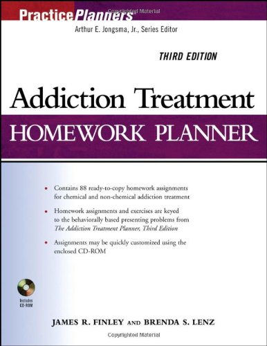 9780471774617: Addiction Treatment Homework Planner (PracticePlanners)
