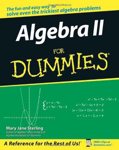 9780471775812: Algebra II for Dummies