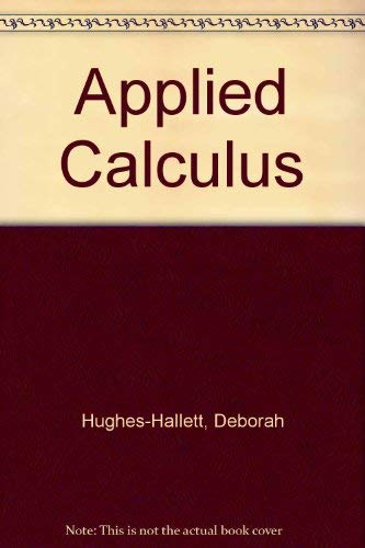 9780471775881: Applied Calculus
