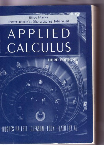 9780471775898: Applied Calculus
