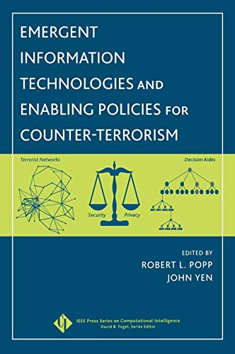 9780471776154: Emergent Information Technologies And Enabling Policies for Counter-Terrorism