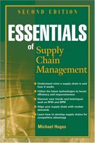 9780471776345: Essentials of Supply Chain Management, 2nd Edition
