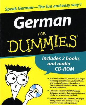 9780471776840: German for Dummies Boxed Set
