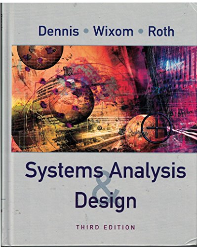 9780471777809: Systems Analysis Design: WITH Visible Analyst