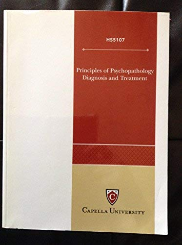 9780471778301: Principles of Psychopathology Diagnosis and Treatment Hs5107