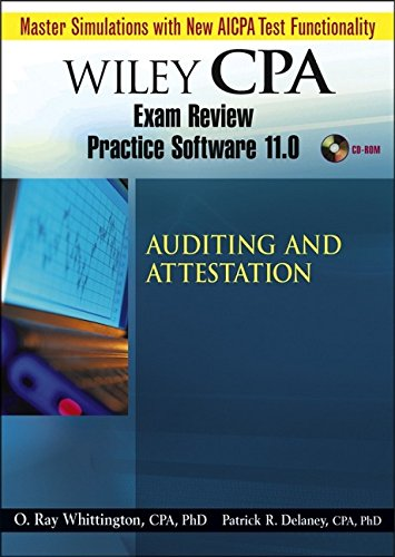9780471779063: Wiley CPA Examination Review Practice Software-Audit 11.0