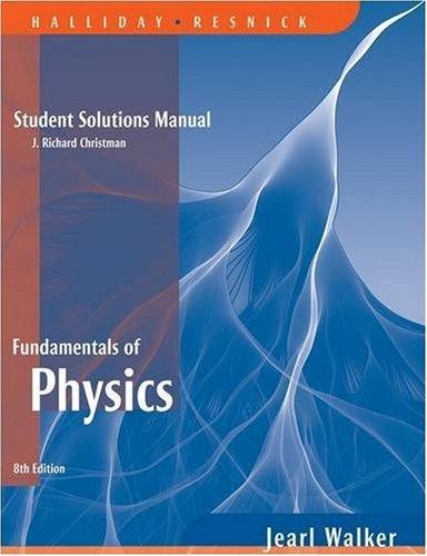 9780471779582: Fundamentals of Physics: Student Solutions Manual