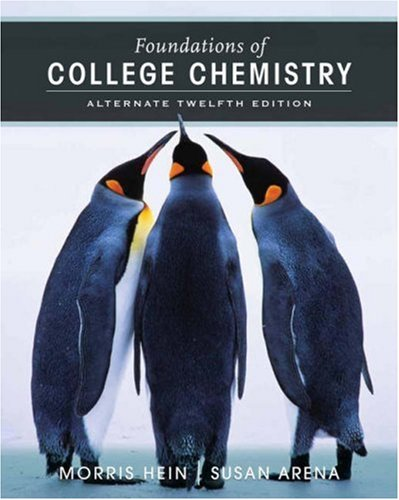 9780471779919: Foundations of College Chemistry