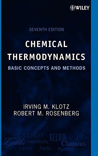 9780471780151: Chemical Thermodynamics: Basic Concepts and Methods