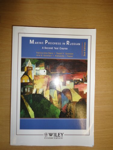 9780471780250: Making Progress in Russian a Second Year Course