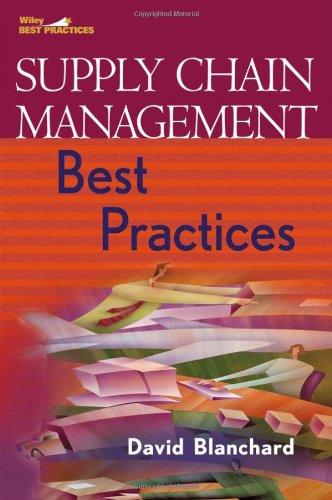 9780471781417: Supply Chain Management Best Practices