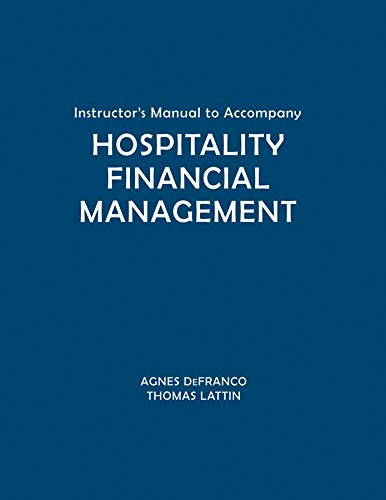 9780471781967: Hospitality Financial Management