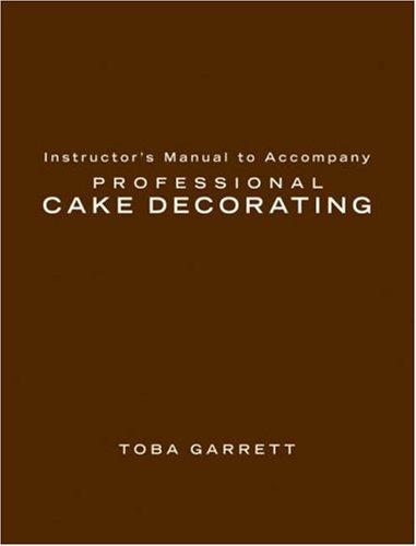 9780471781974: Professional Cake Decorating