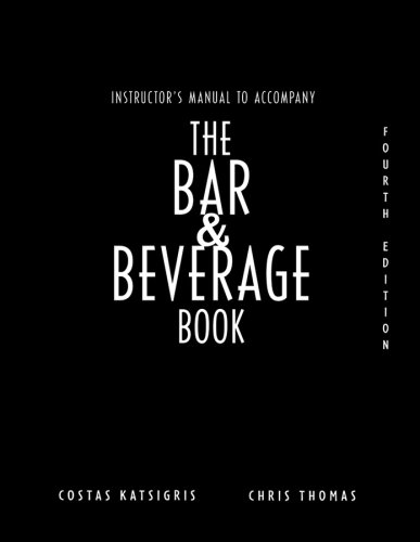 9780471782018: The Bar and Beverage Book