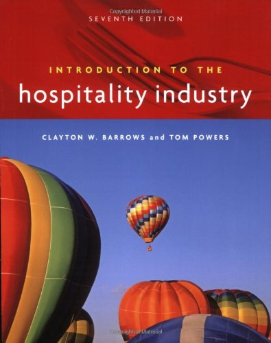 9780471782766: Introduction to the Hospitality Industry