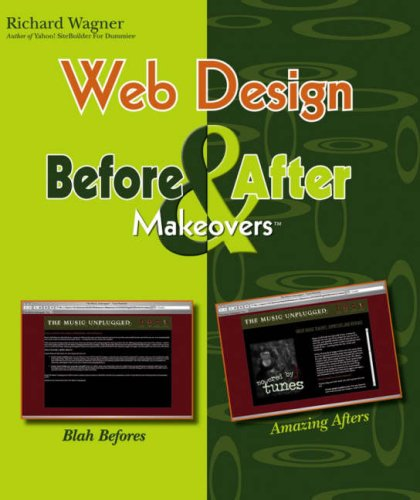 9780471783237: Web Design Before and After Makeovers (Before & After Makeovers)