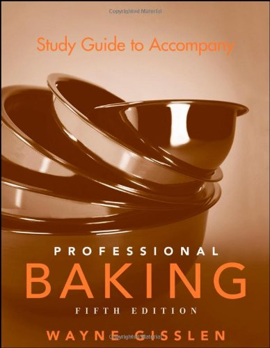 9780471783503: Study Guide to Accompany Professional Baking