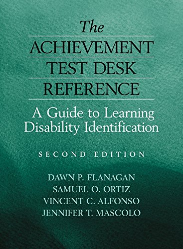 9780471784012: The Achievement Test Desk Reference: A Guide to Learning Disability Identification