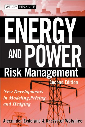 9780471784210: Energy and Power Risk Management: New Developments in Modeling, Pricing, and Hedging (Wiley Finance)