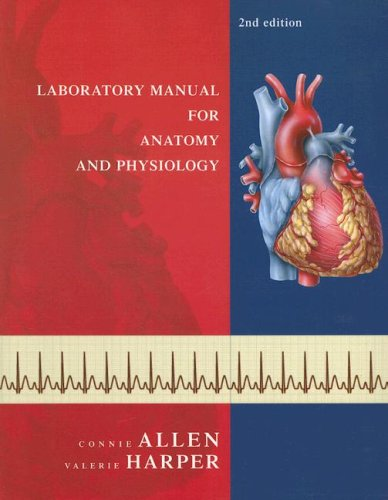 9780471784425: Laboratory Manual for Anatomy and Physiology (Second Edition)