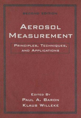 9780471784920: Aerosol Measurement: Principles, Techniques, and Applications