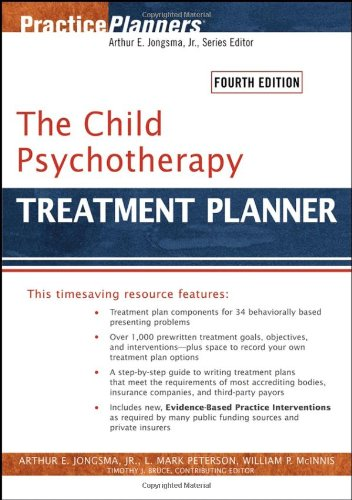 9780471785354: The Child Psychotherapy Treatment Planner (Practice Planners)