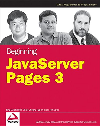 Beginning JavaServer Pages 3 (0471785423) by [???]