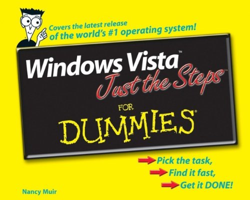 9780471786856: Windows Vista Just the Steps For Dummies