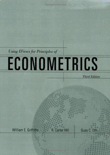 9780471787112: Using EViews: For Principles of Econometrics