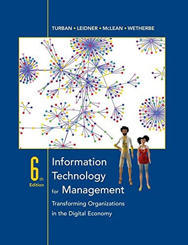 9780471787129: Information Technology for Management: Transforming Organizations in the Digital Economy