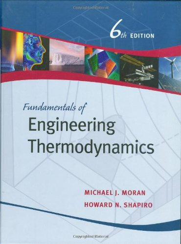 9780471787358: Fundamentals of Engineering Thermodynamics