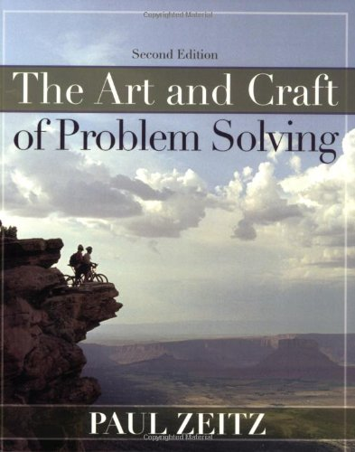 9780471789017: The Art And Craft of Problem Solving