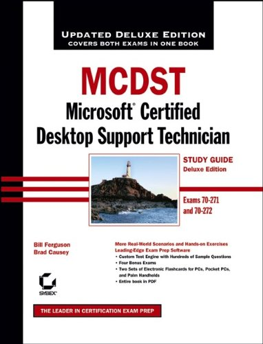 9780471789291: MCDST: Microsoft Certified Desktop Support Technician: Exams 70-271 and 70-272