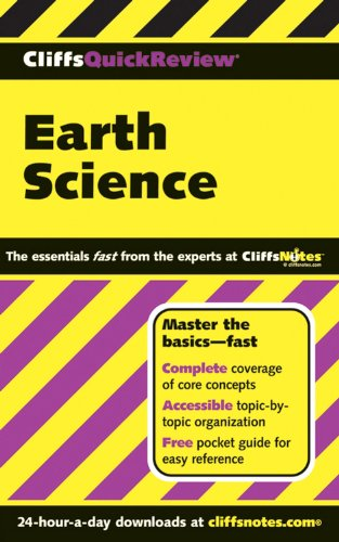9780471789376: CliffsQuickReview Earth Science