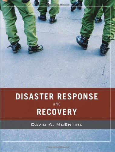 9780471789741: Disaster Response and Recovery