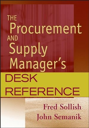 9780471790433: The Procurement And Supply Manager's Desk Reference
